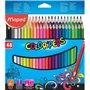 Ξυλομπογιές Maped Color Peps 48τεμ Maped Σχολικές Ξυλομπογιές